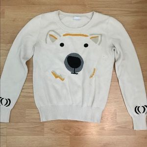 Adorable polar bear sweater from UO